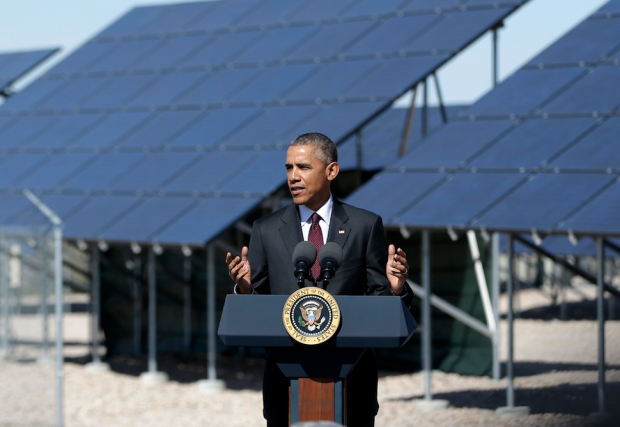 obama solar announcement