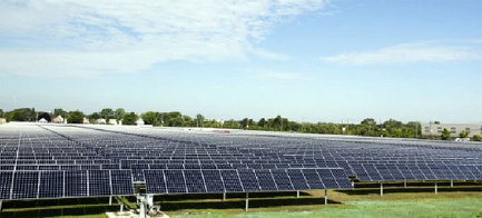 utility scale solar midwest