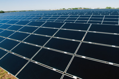 solar power farm texas